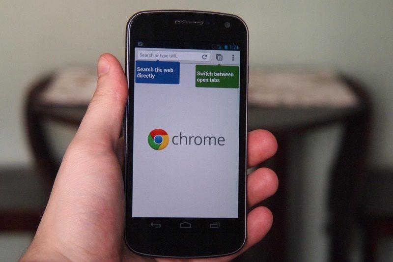 Actualización de Chrome permitirá descargar sitios web en Android - chrome_browser-800x533