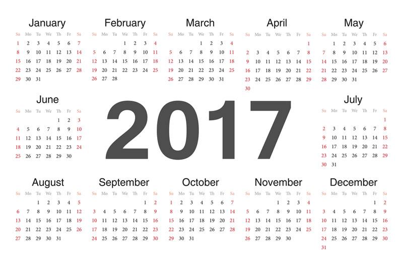 Calendario 2017, opciones para descargar calendarios para imprimir - crear-calendarios-en-linea