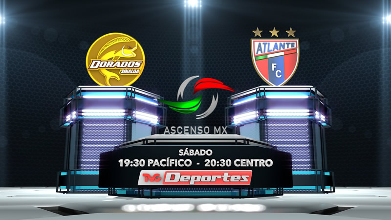 Dorados vs Atlante, Final del Ascenso MX A2016 | Resultado: 1-0 - dorados-vs-atlante-final-ascenso-mx-tvc-deportes