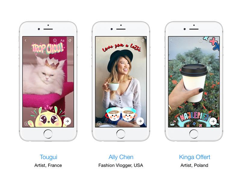 Messenger lanza nuevas funciones para la cámara, con máscaras 3D y efectos especiales - facebook-messenger-camera