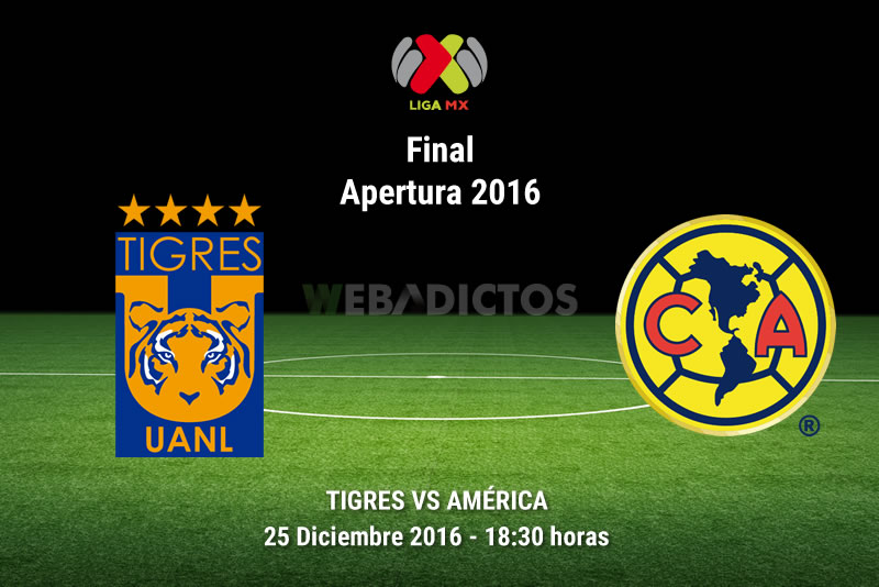 Tigres vs América, Final Apertura 2016   Resultado: 1(3)-(0)1 - tigres-vs-america-final-apertura-2016-vuelta