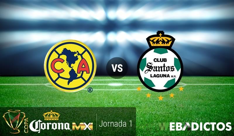 America Vs Santos Copa Mx Clausura  America Vs Santos Jornada  De Copa Mx