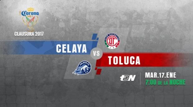 Celaya vs Toluca, Copa MX Clausura 2017 | Resultado: 0-2 - celaya-vs-toluca-copa-mx-clausura-2017-en-vivo
