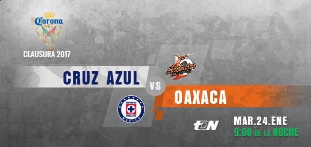 Cruz Azul vs Alebrijes, Jornada 2 Copa MX C2017 | Resultado: 1-1 - cruz-azul-vs-alebrijes-oaxaca-copa-mx-c2017-en-vivo