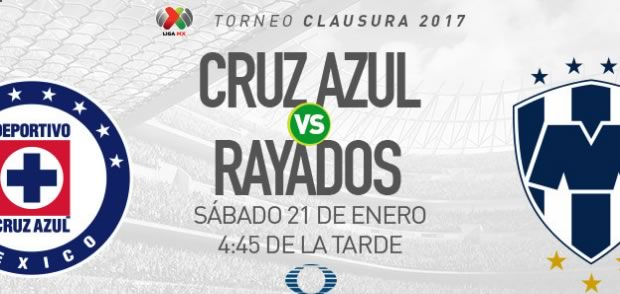 Cruz Azul vs Monterrey, Jornada 3 del Clausura 2017   Resultado: 2-2 - cruz-azul-vs-monterrey-clausura-2017-en-vivo
