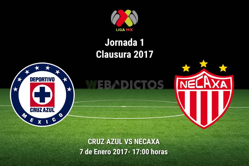cruz azul vs necaxa clausura 2017 Cruz Azul vs Necaxa, Jornada 1 Clausura 2017 | Resultado: 1 0