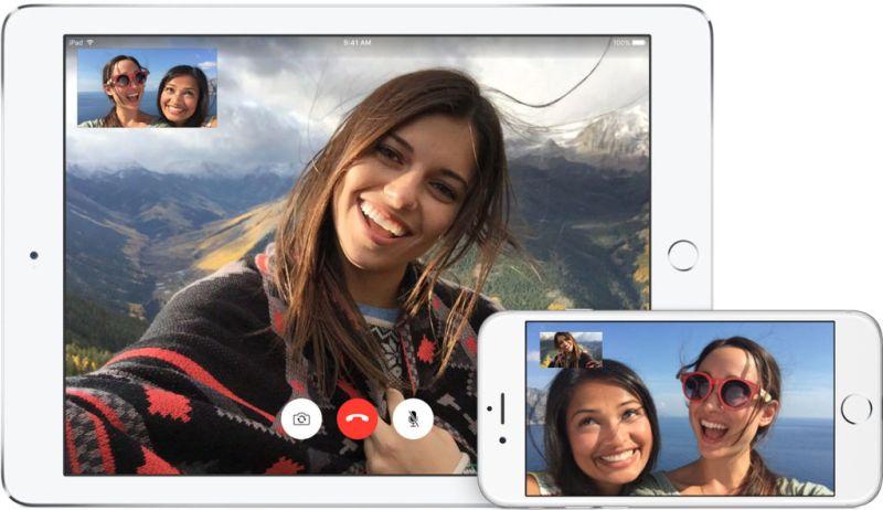 Facetime recibiría llamadas grupales en iOS 11 - facetime-apple