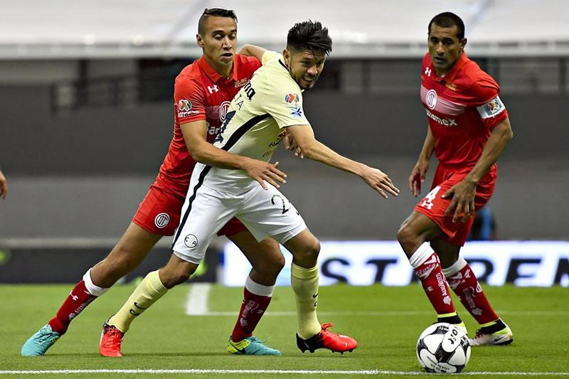 A qué hora juega América vs Toluca en la J2 del Clausura 2017 y en qué canal verlo - horario-america-vs-toluca-j2-clausura-2017