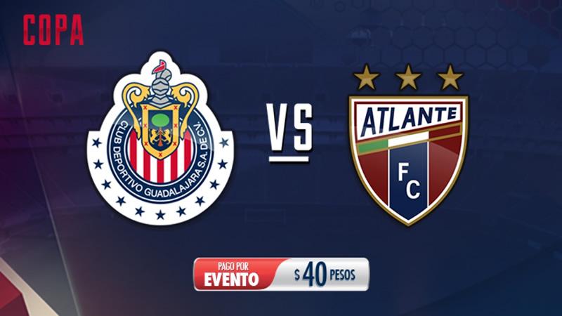 Horario Chivas vs Atlante en la Copa MX C2017 y por dónde verlo - horario-chivas-vs-atlante-copa-mx-clausura-2017