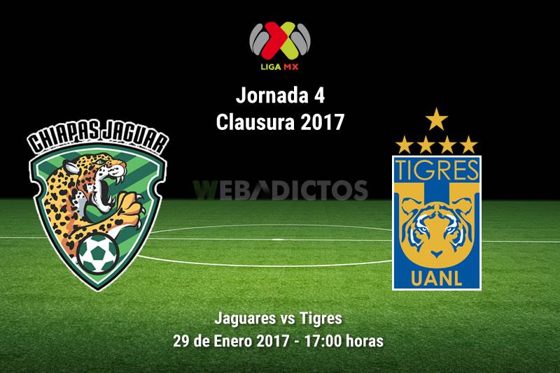 Jaguares vs Tigres, Jornada 4 del Clausura 2017 | Resultado: 1-0 - jaguares-vs-tigres-j4-clausura-2017