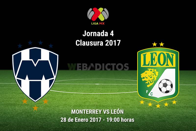 Monterrey vs León, Jornada 4 del Clausura 2017   Resultado: 0-0 - monterrey-vs-leon-j4-clausura-2017