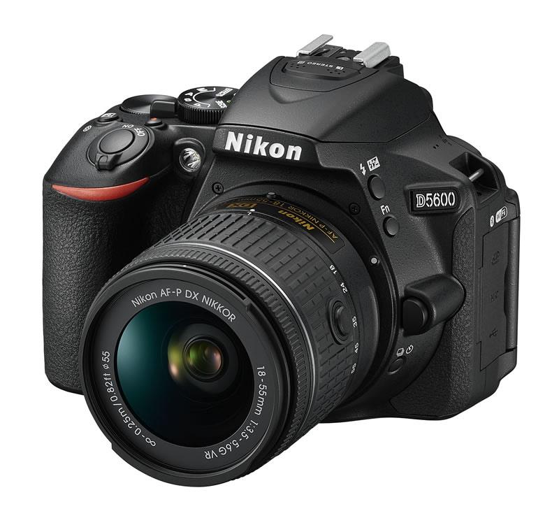 Nikon presenta su nuevo modelo Nikon D5600 en el CES 2017 - nikon-d5600-ces-2017