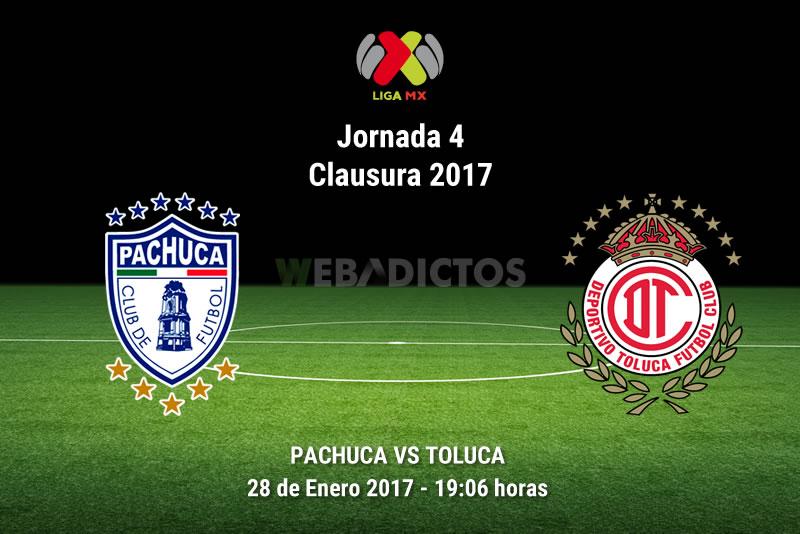 Pachuca vs Toluca, Fecha 4 del Clausura 2017   Resultado: 0-0 - pachuca-vs-toluca-j4-clausura-2017