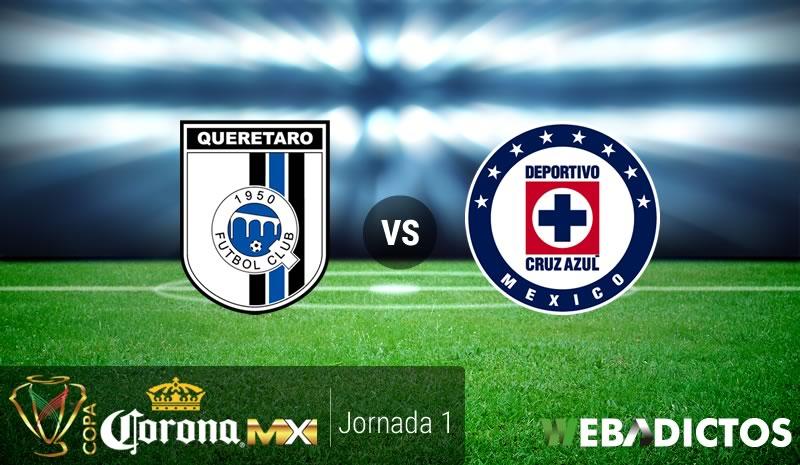 Querétaro vs Cruz Azul, Copa MX Clausura 2017 | Resultado: 3-2 - queretaro-vs-cruz-azul-copa-mx-clausura-2017