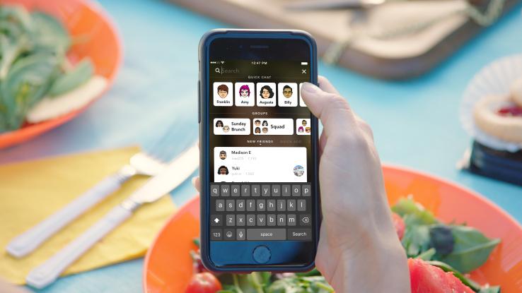 Snapchat presenta búsqueda universal - snapchat-search