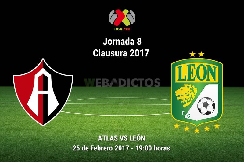 Atlas vs León, Jornada 8 Clausura 2017 | Resultado: 2-0 - atlas-vs-leon-j8-clausura-2017