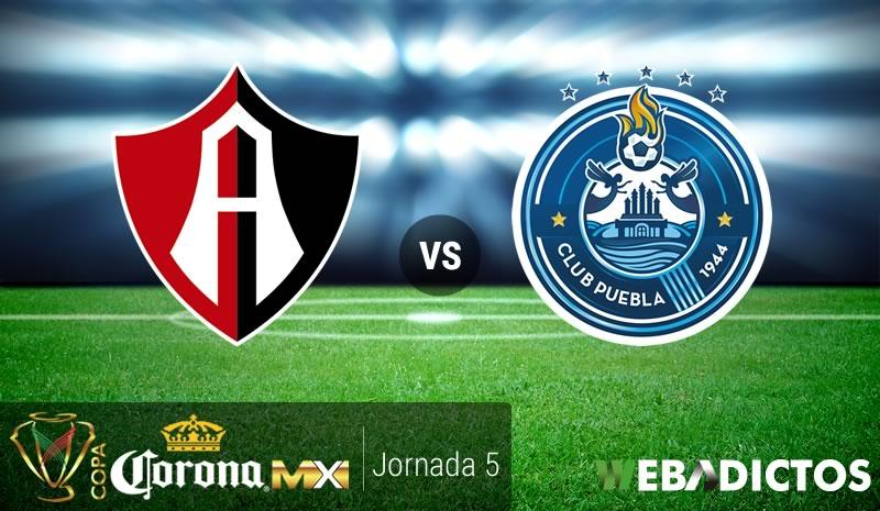 Atlas vs Puebla, Jornada 5 de Copa MX Clausura 2017 | Resultado: 2-1 - atlas-vs-puebla-j5-copa-mx-clausura-2017
