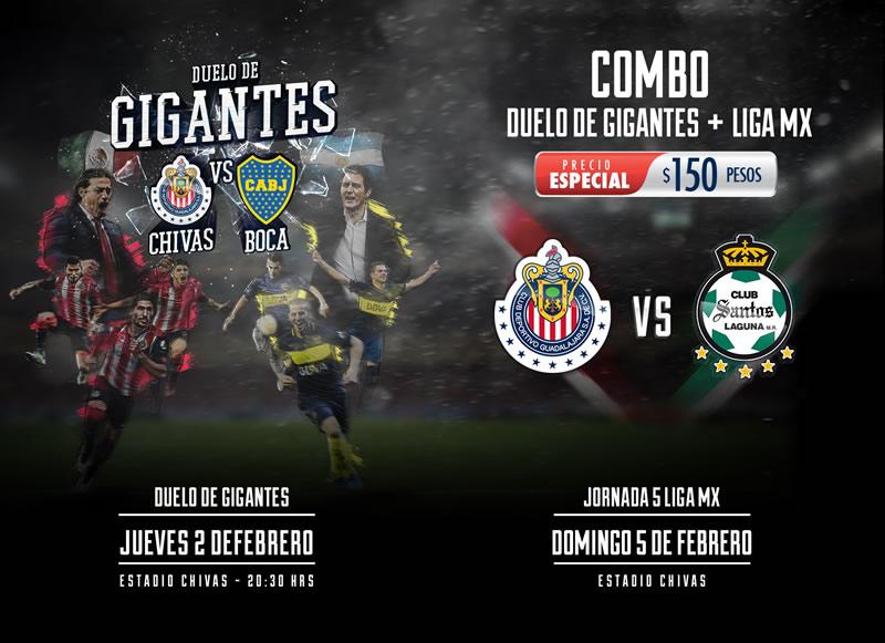 Chivas vs Boca Juniors, Duelo de Gigantes   Resultado: 1(5)-(3)1 - chivas-vs-boca-juniors-chivas-tv