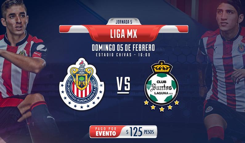 Chivas vs Santos, Jornada 5 Clausura 2017 | Resultado: 1-1 - chivas-vs-santos-j5-clausura-2017-chivas-tv