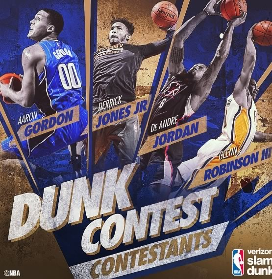 Concursos del Juego de Estrellas NBA All Stars 2017 ¡Imperdibles! - concurso-de-clavadas-nba-all-stars-2017
