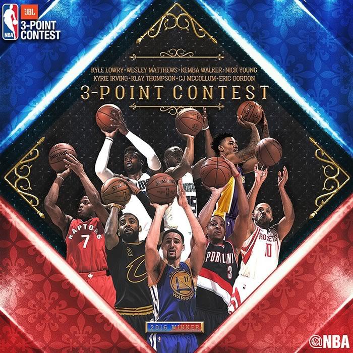 Concursos del Juego de Estrellas NBA All Stars 2017 ¡Imperdibles! - concurso-de-tiros-de-3-puntos-nba-all-stars-2017