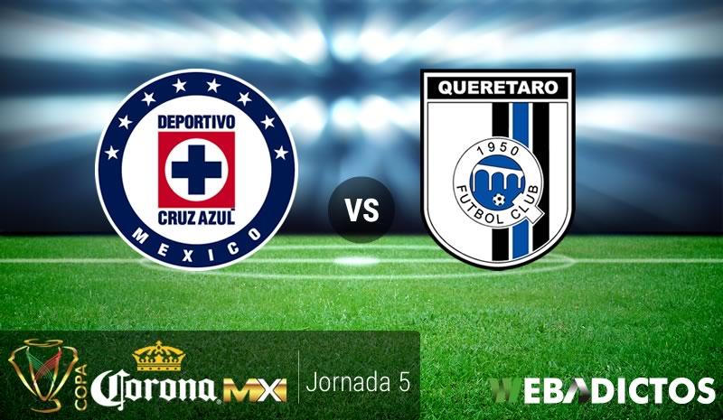Cruz Azul vs Querétaro, Copa MX Clausura 2017 | Resultado: 3-0 - cruz-azul-vs-queretaro-j5-copa-mx-clausura-2017