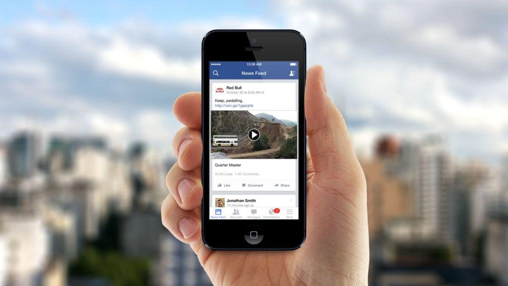 facebook video iphone Facebook podría empezar a producir contenido audiovisual propio