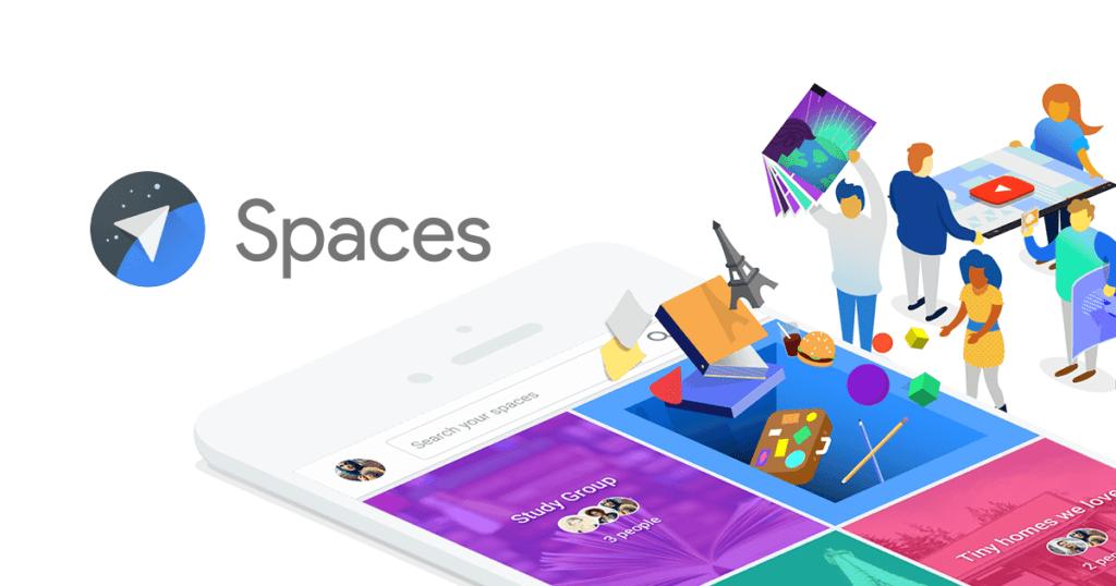 """Google eliminará """"Spaces"""" en abril - google-spaces"""