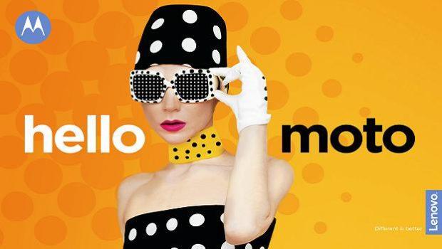 Moto revive su reconocido eslogan: hellomoto - hellomoto