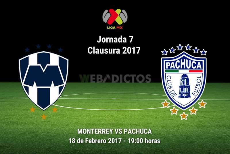 Monterrey vs Pachuca, Jornada 7 del Clausura 2017 | Resultado: 1-0 - monterrey-vs-pachuca-j7-clausura-2017