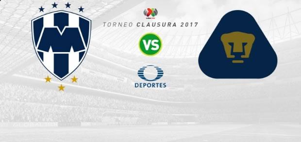 Monterrey vs Pumas, Jornada 6 del Clausura 2017 | Resultado: 2-0 - monterrey-vs-pumas-clausura-2017-en-vivo