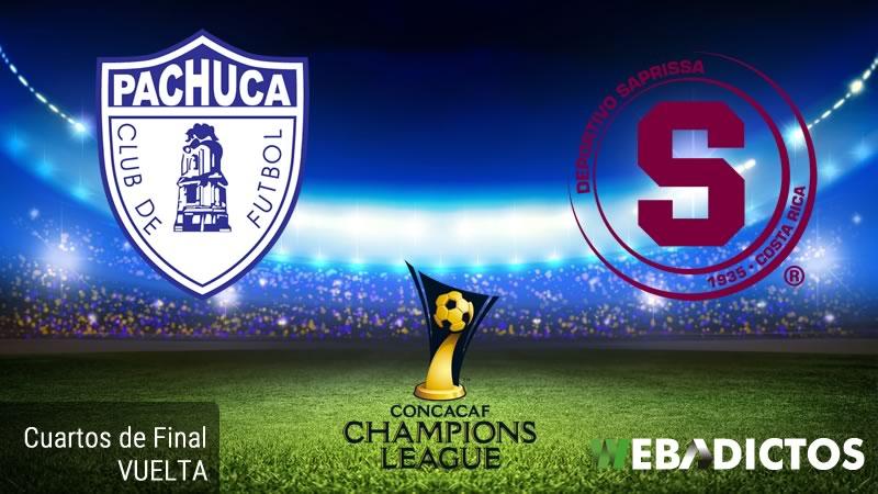 Pachuca vs Saprissa, Concachampions 2017   Resultado: 4-0   Cuartos de Final - pachuca-vs-saprissa-concachampions-2017