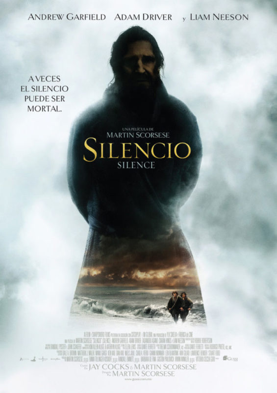 pelicula silencio 565x800 Cinépolis Sala de Arte presenta la película Silencio de Martin Scorsese