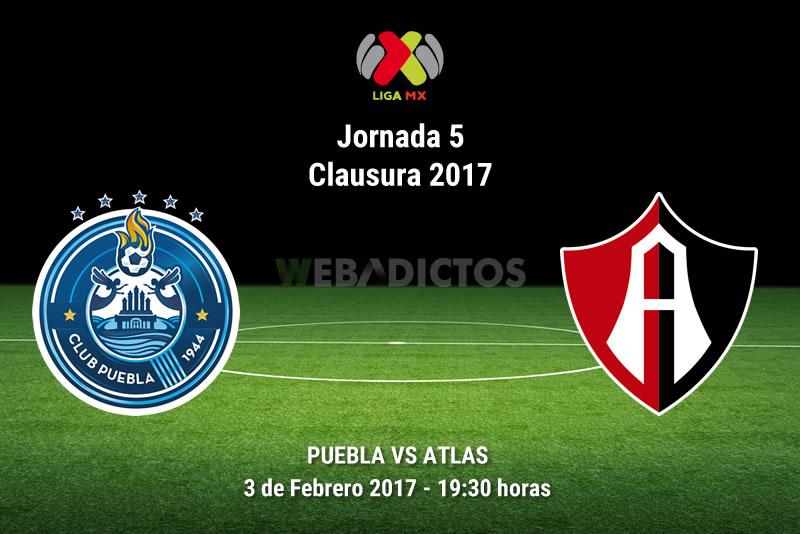 Puebla vs Atlas, Jornada 5 del Clausura 2017 | Resultado: 1-1 - puebla-vs-atlas-j5-clausura-2017