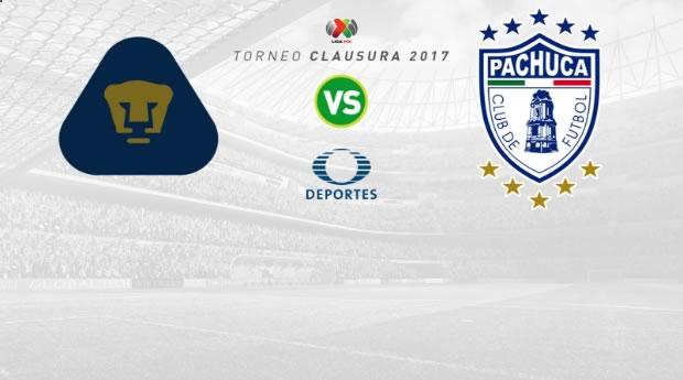 Pumas vs Pachuca, Jornada 5 del Clausura 2017   Resultado: 1-1 - pumas-vs-pachuca-j5-clausura-2017-en-vivo