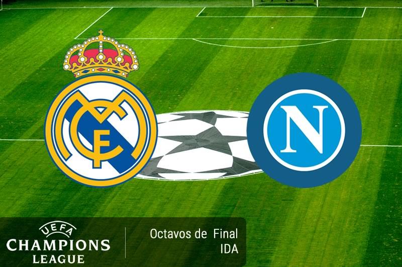 Real Madrid vs Napoli, Octavos de Champions 2017   Resultado: 3-1 - real-madrid-vs-napoli-octavos-champions-2017
