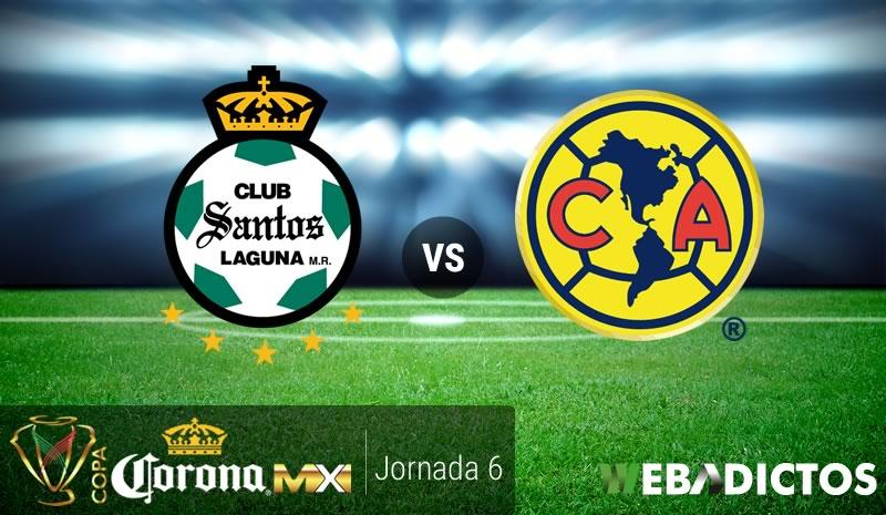 Santos vs América, Jornada 6 Copa MX C2017 | Resultado: 2-1 - santos-vs-america-j6-copa-mx-clausura-2017