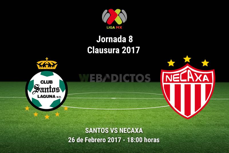 Santos vs Necaxa, Jornada 8 del Clausura 2017 | Resultado: 2-2 - santos-vs-necaxa-j8-clausura-2017
