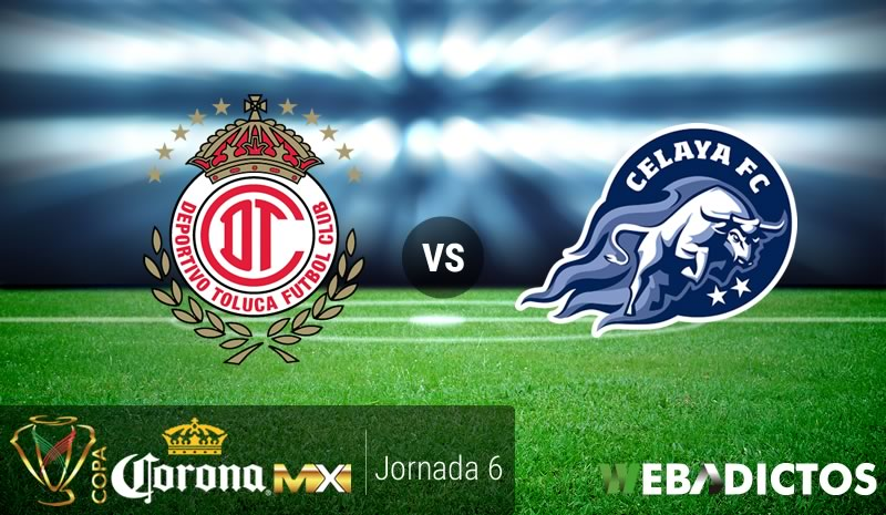 Toluca vs Celaya, J6 de la Copa MX Clausura 2017 | Resultado: 3-1 - toluca-vs-celaya-j6-copa-mx-clausura-2017