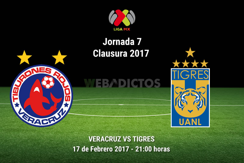 Veracruz vs Tigres, Jornada 7 del Clausura 2017   Resultado: 0-3 - veracruz-vs-tigres-j7-clausura-2017