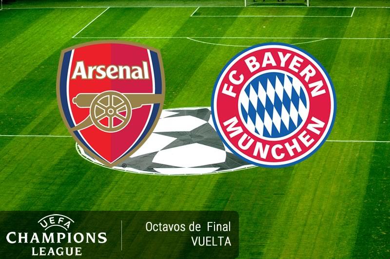 Arsenal vs Bayern Munich, Champions League 2017   Resultado: 1-5 - arsenal-vs-bayern-munich-octavos-champions-2017