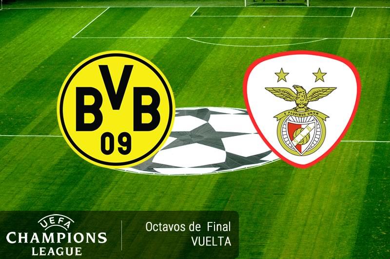 Borussia Dortmund vs Benfica, Champions League 2017   Resultado: 4-0 - borussia-dortmund-vs-benfica-octavos-champions-2017