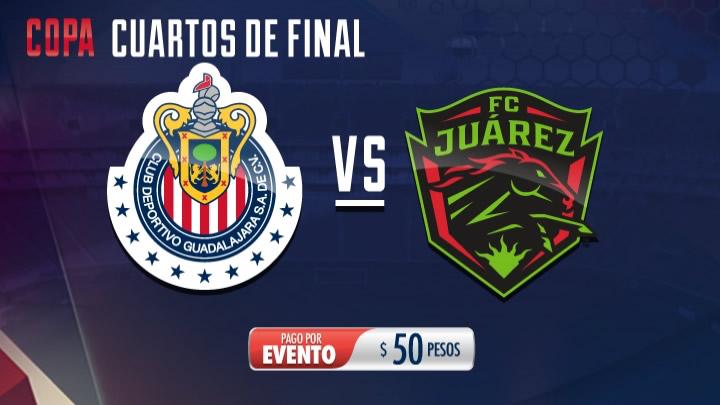 Horario Chivas vs Juárez en la Copa MX C2017 y por dónde verlo - chivas-vs-juarez-copa-mx-chivas-tv