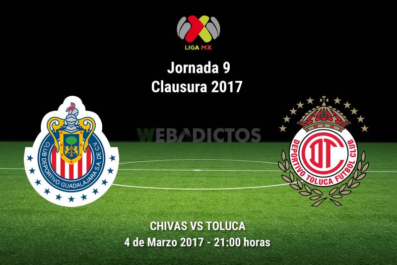 Chivas vs Toluca, J9 del Clausura 2017   Resultado: 2-0 - chivas-vs-toluca-j9-clausura-2017