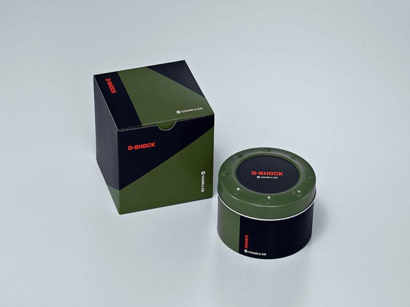 G-SHOCK y Chari & Co crean un reloj con alma de bicicleta - ga-500k_chariandco_package-g-shock-800x600