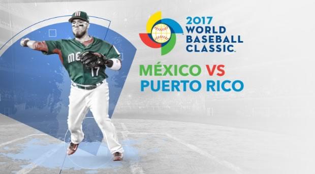 México vs Puerto Rico, Mundial de Beisbol 2017 | Resultado: 4-9 - mexico-vs-puerto-rico-clasico-mundial-de-beisbol-2017-en-vivo