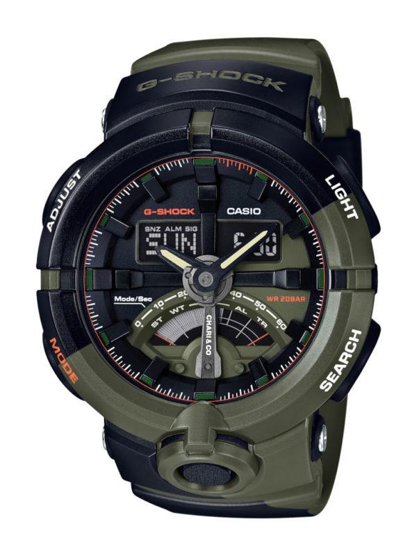 G-SHOCK y Chari & Co crean un reloj con alma de bicicleta - modelo-ga500-de-g-shock-600x800