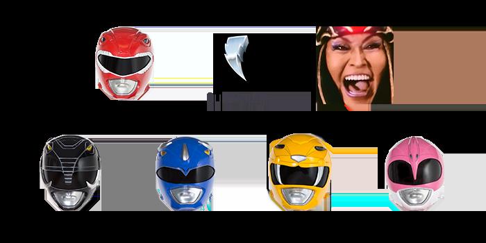 Twitch transmitirá las 23 temporadas de Power Rangers - power-rangers-twitch-emotes