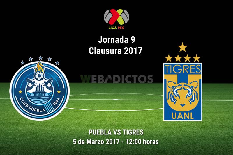 Puebla vs Tigres, Fecha 9 del Clausura 2017   Resultado: 0-2 - puebla-vs-tigres-j9-clausura-2017