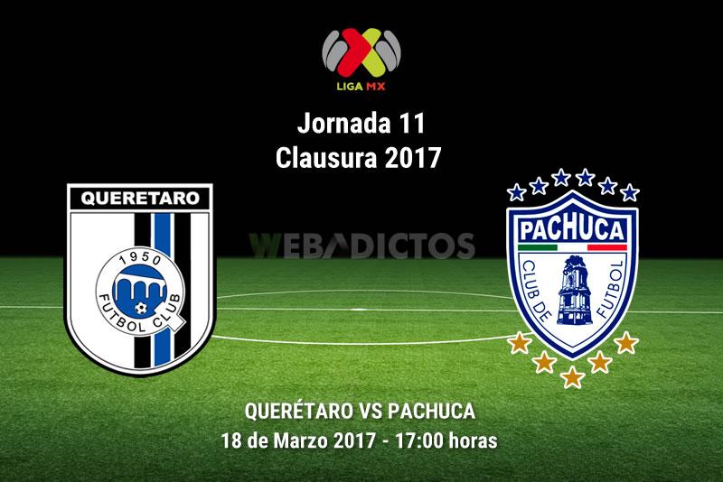 Querétaro vs Pachuca, Fecha 11 del Clausura 2017   Resultado: 3-0 - queretaro-vs-pachuca-j11-clausura-2017